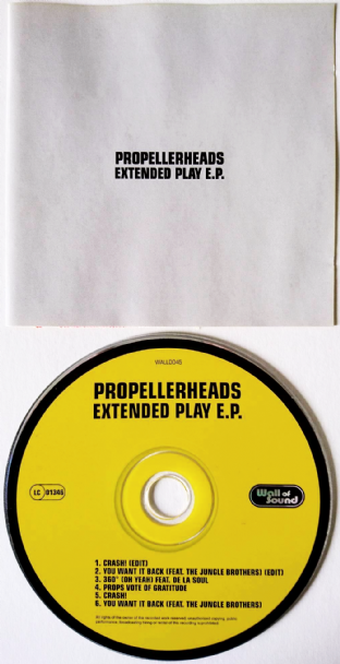 Propellerheads ‎- Extended Play EP (CD Single) (G+/VG)